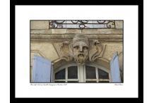 Bordeaux - bas-relief de la rue Camille Sauvageau
